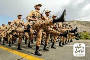 رژه در خدمت آموزشی سربازی