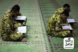 روز اول ماه رمضان خدمت آموزشی سربازی شهدای 01 وظیفه نزاجا